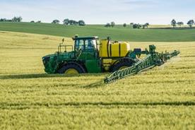 Stable boom ride provides spray accuracy and reduces risk on spray drift