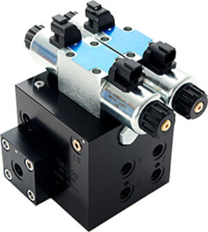 Proportional hydraulic valve unit