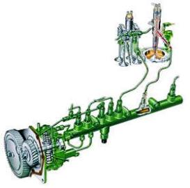 High-pressure commo-rail fuel-injection system