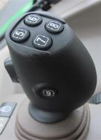 Optional integrated crossgate joystick