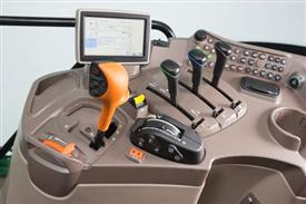 ComfortView cab right-hand console without CommandARM™