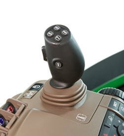 Reconfigurable electrical joystick, and paddle pods on CommandARM™ controls