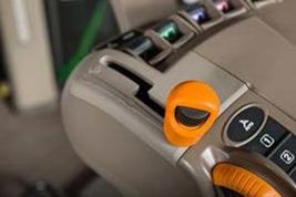 Left-hand transmission lever