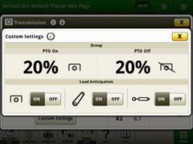 IVT custom mode settings