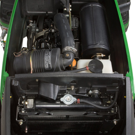 Three-cylinder Yanmar TNV Series diesel engine