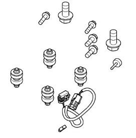 Parts for radar sensor