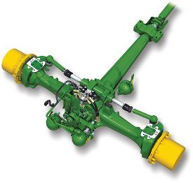 Adaptive front axle