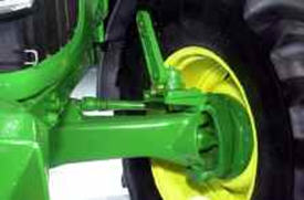 Conversion kit from rigid front fenders to turnable front fenders