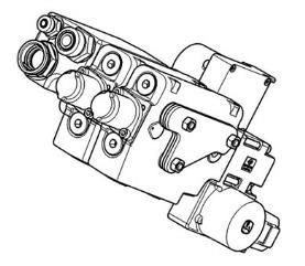 Electrical Independent Control Valve (E-ICV), two functions - (6R Stage IV)
