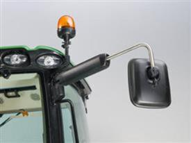 Rearview mirrors – heated, electrically adjustable, and telescopic