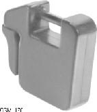 19-kg (42-lb) Quik-Tatch weight