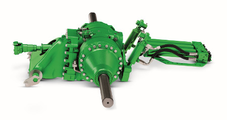 Single and double-reduction axles