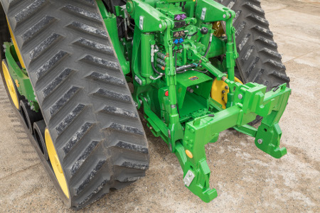 John Deere offers a wide range of hitch options