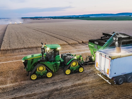 9 Family Tractor with optional 1,000 rpm PTO