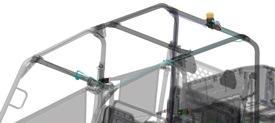 Beacon light harness kit (shown on Gator™ XUV560 S4)