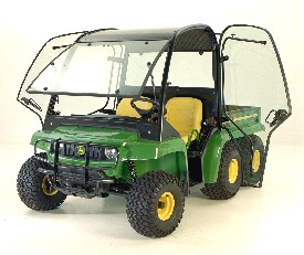 Shown on TH 6x4 - doors and windshield open