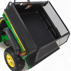 Cargo box side extension kit (dump position)