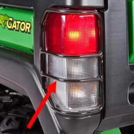 Brake and taillight protector