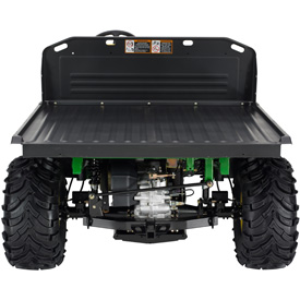 Deluxe cargo box converted to a flat bed