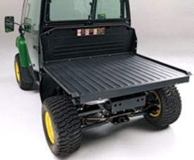 Deluxe cargo box converted to flat bed