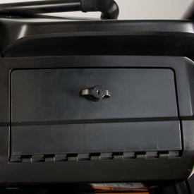 Glove box lock (locked position)