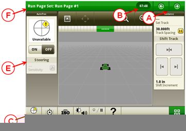 CommandCenter™ 4600 John Deere