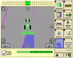 Sistema di controllo sezioni John Deere