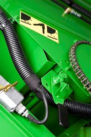 Leva di regolazione della griglia del cilindro lanciatore