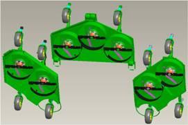 Immagine del kit di mulching WAM