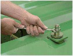 Regolazione della pressione dei rulli