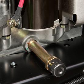 Scarico dell'olio del motore senza bisogno di attrezzi.