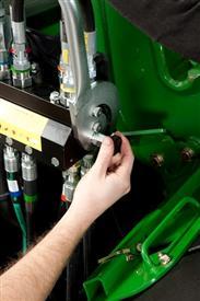 Rilascio della pressione idraulica