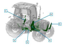Serie 5E con componenti per la predisposizione caricatore