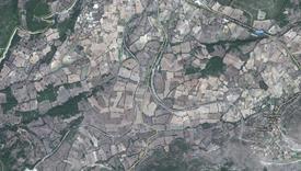 PowrReverser è utile nelle aree di fine campo di dimensioni ridotte (come mostrato nella vista dall'alto)