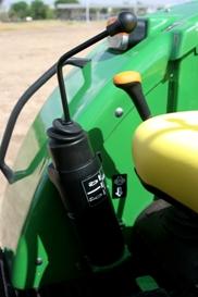 Joystick per l'azionamento del distributore idraulico