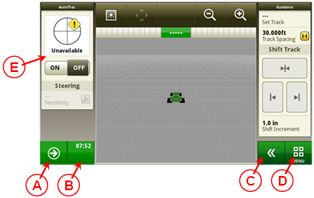 CommandCenter™ 4100 John Deere
