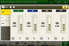 Opzione impianto idraulico CommandCenter™