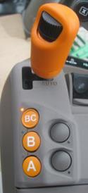 Leva del gas DirectDrive™ in modalità completamente automatica