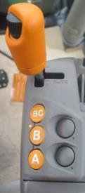 Leva del gas DirectDrive™ in modalità manuale