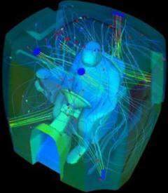 Immagini in 3D utilizzate nella progettazione del sistema