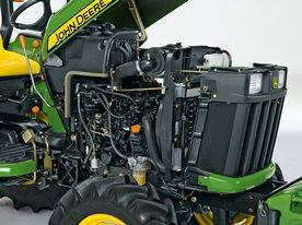Motore facilmente accessibile