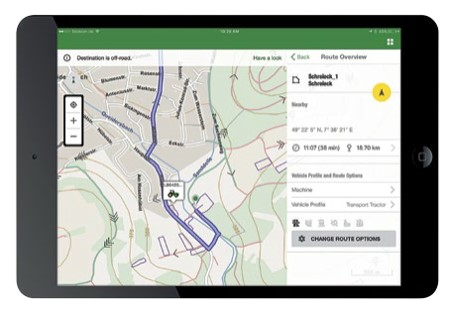 Navigazione Ag intelligente e logistica del parco macchine John Deere
