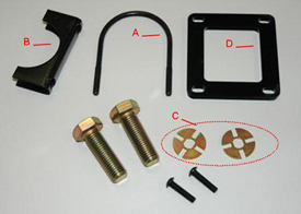 AutoTrac Universal steering supplemental kit,