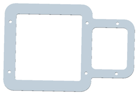 GreenStar dual display bracket