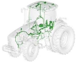 Service ADVISOR™ Remote connections to CANBus systems on tractors