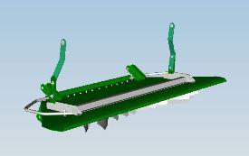 Manual vane tailboard