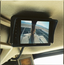 Observation monitor in cab