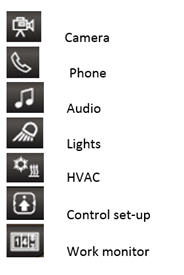 Second shortcut key icons