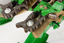 Gathering chain and sprocket