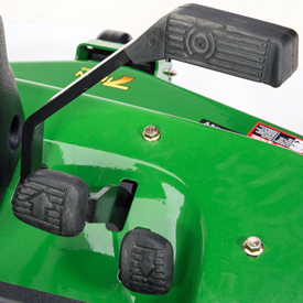 Master stop brake/directional foot pedals